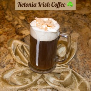 Ketonia Keto Irish Coffee - Irish coffee