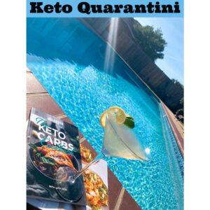 Keto Quarantini - Swimming Pool