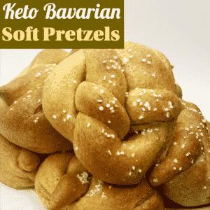 Keto Bavarian Soft Pretzel