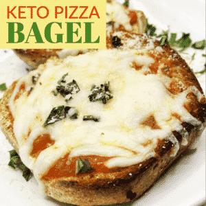 Keto Pizza Bagel