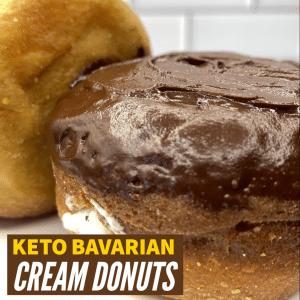 Keto Bavarian Donuts