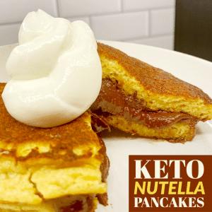 Keto Nutella Pancake