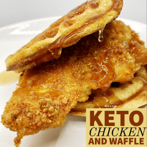 Keto Chicken and Waffle