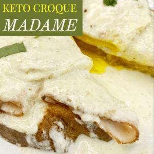 Keto Croque Madame