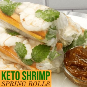 Keto Shrimp Spring Rolls