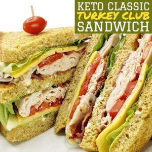 Keto Classic Turkey Club Sandwich