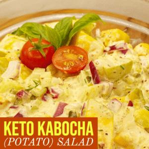 Keto Kabocha (Potato) Salad-2