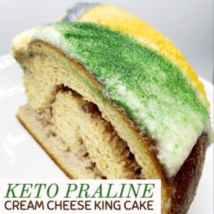 Keto Praline Cream Cheese King Cake