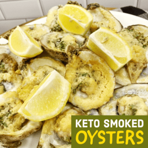 Keto Smoked Oysters