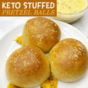 Keto Stuffed Pretzel Balls