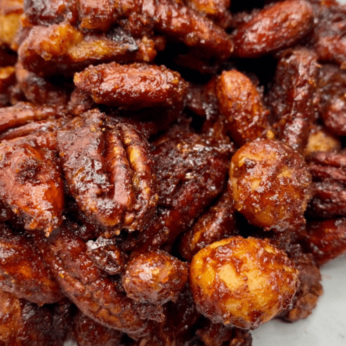 Keto Sweet & Spicy Nuts