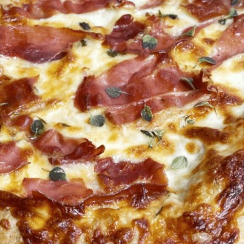 Keto Croissant Pizza