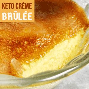Keto Crème Brûlée