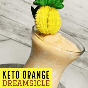 Keto Orange Dreamsicle