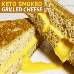 Keto Smoked Grilled Cheese